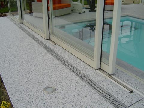 Schwimmbadumrandung Rutschfester Terrassenbelag